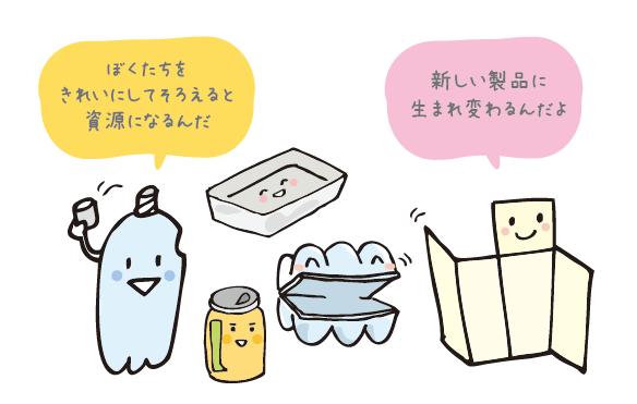 レッツみんなでリサイクル(店舗編)
