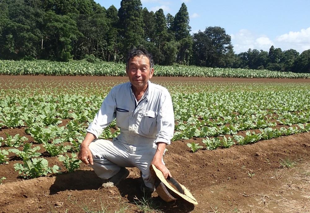 生産者 村田さん (農)富里産直の写真