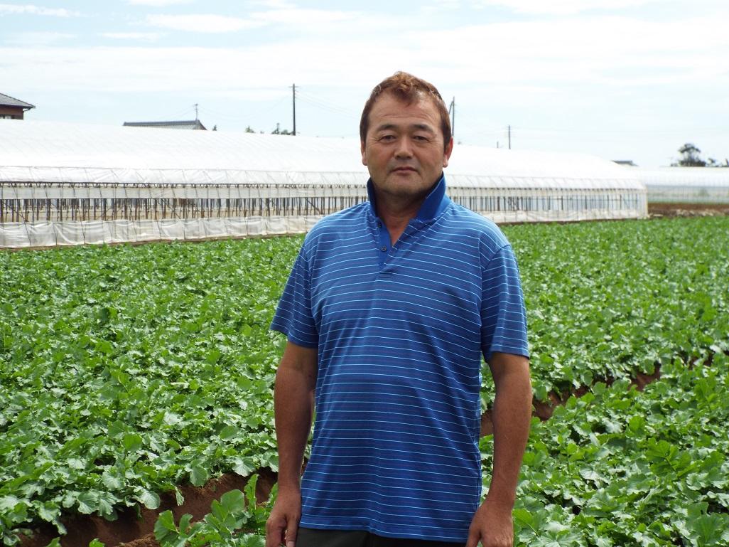 生産者 渡邊さん (株)千葉シールズの写真