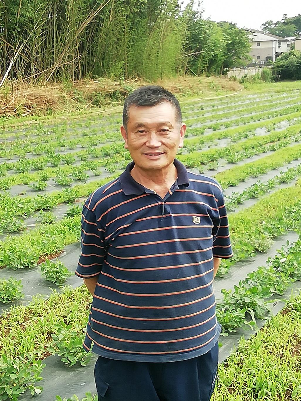 生産者 飯島さん (農)船橋農産物供給センターの写真