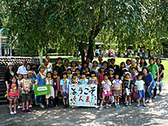 福島の子ども保養プロジェクトのイメージ