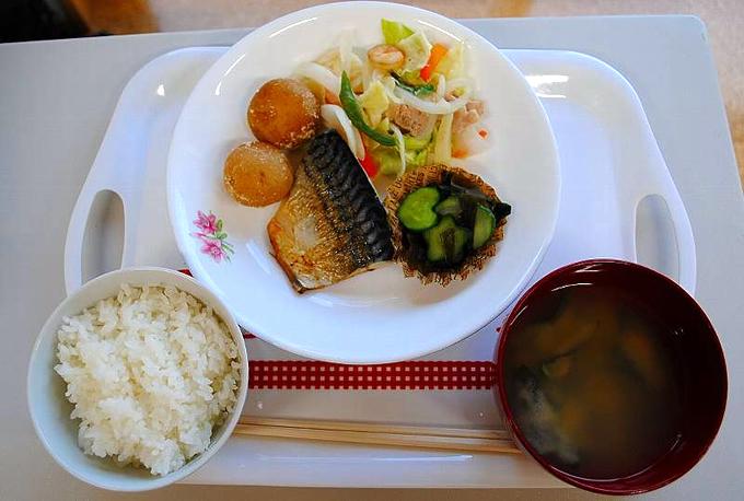 提供される料理の写真