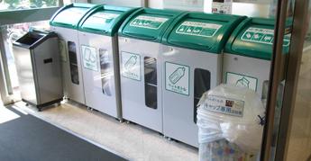 コープのお店のリサイクル回収