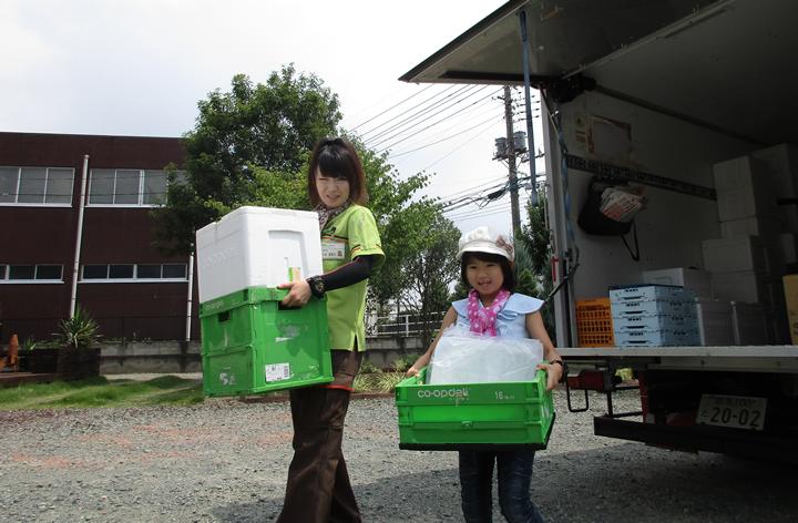 子ども参観日の写真