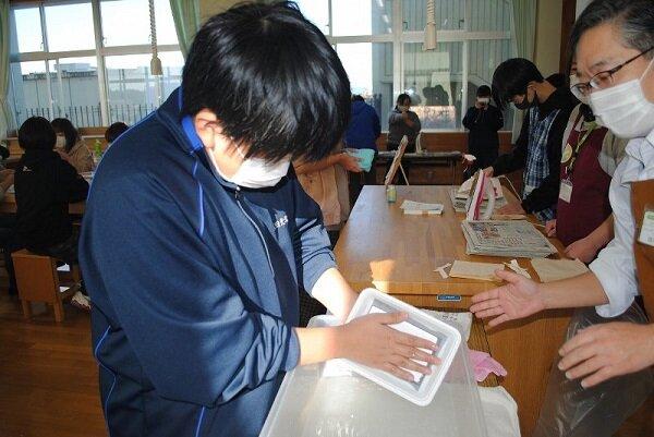 鉾田北中学校「家庭教育学級講座」で環境教室を開催しました
