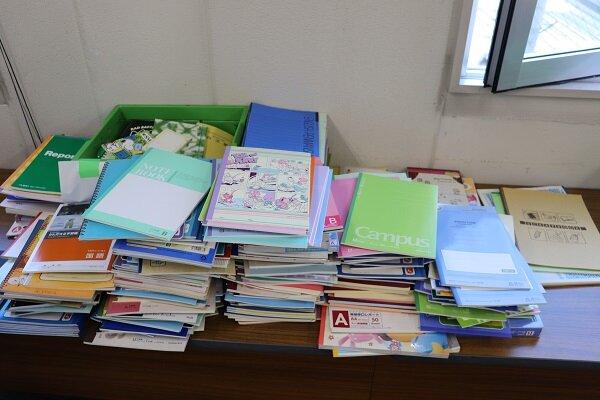 NPO 法人フードバンク信州へ「未使用文房具」を贈呈