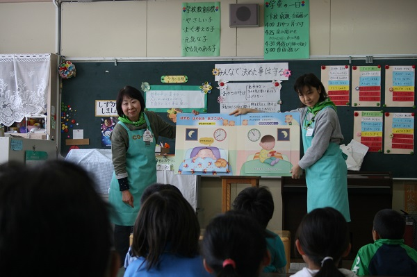食育出前講座「おみそ汁の濃さどれくらい?」~子ども向け食育出前講座を開催しました~