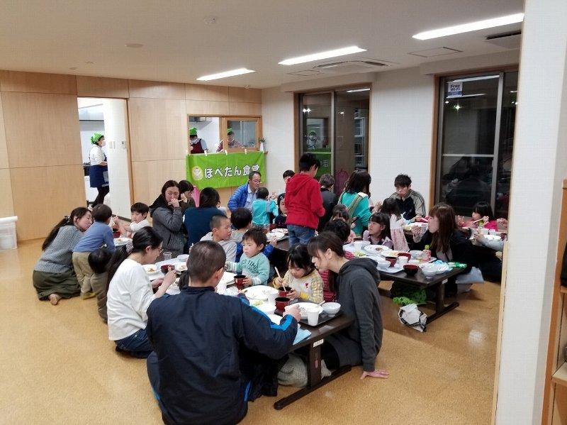 3月各地でほぺたん食堂が開催されました