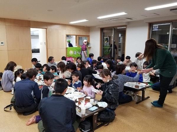 12月各地でほぺたん食堂が開催されました