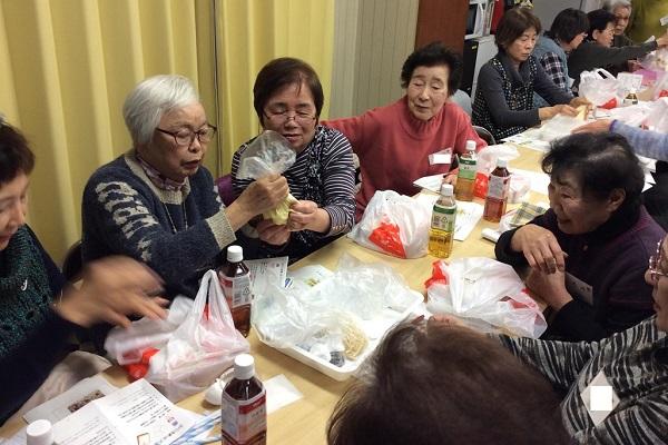 松戸市岩瀬自治会館にて「防災プログラム」の出前授業を実施しました