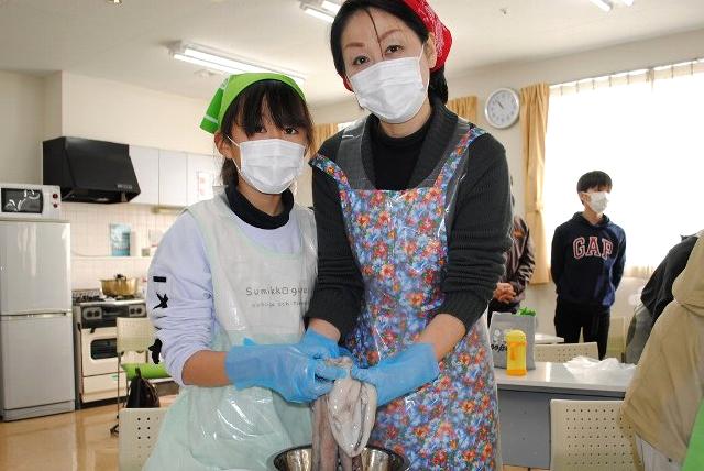 いばらきコープ美味しいモノ語り学習会「茨城のお魚まるごと体験!!」を開催しました
