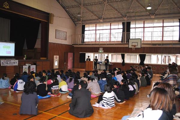 食育教室「たべる、たいせつ」(阿見町立君原小学校)を開催しました