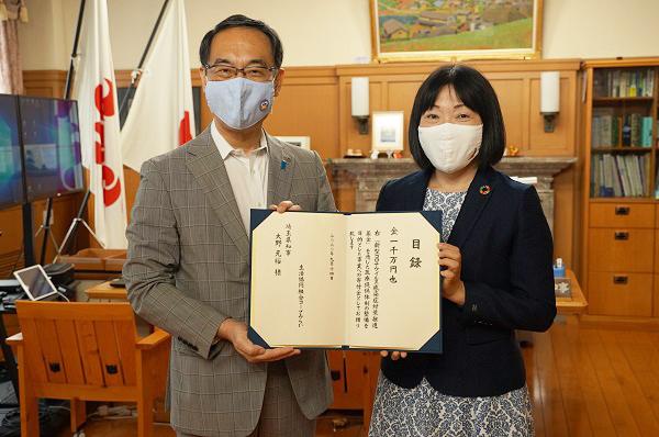 「新型コロナウイルス感染症に負けない!緊急応援募金」の取り組み報告