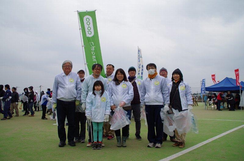 「霞ヶ浦・北浦地域清掃大作戦」に参加しました