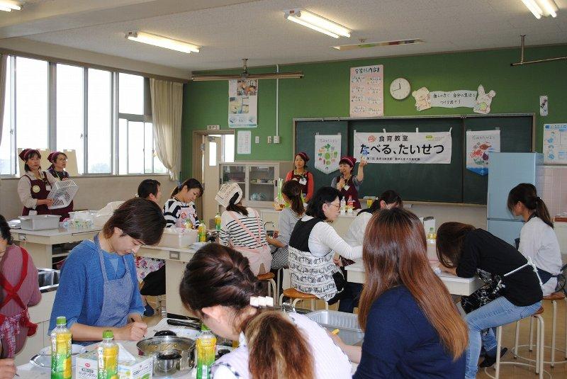 「食育教室 たべる、たいせつ」(八千代町立下結城小学校)を開催しました