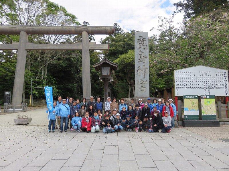 ユニセフ・ラブウォークin鹿島神宮に参加しました