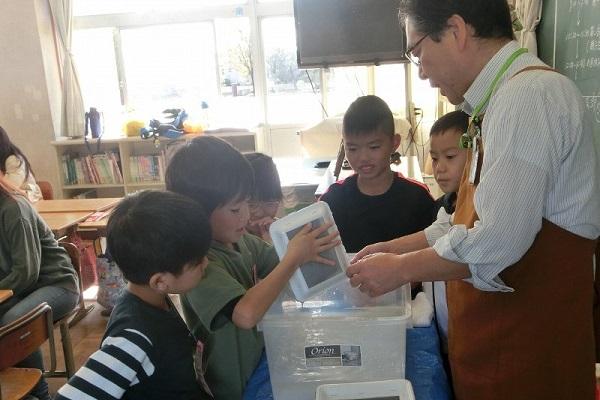 環境教室を開催しました