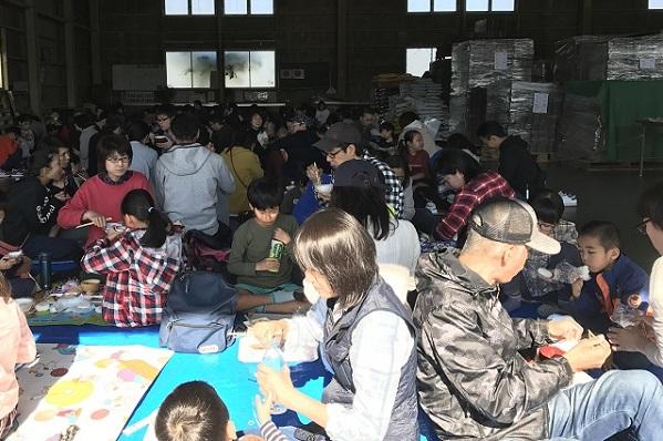 「田んぼのがっこう(川島会場)第4回収穫祭」を開催しました