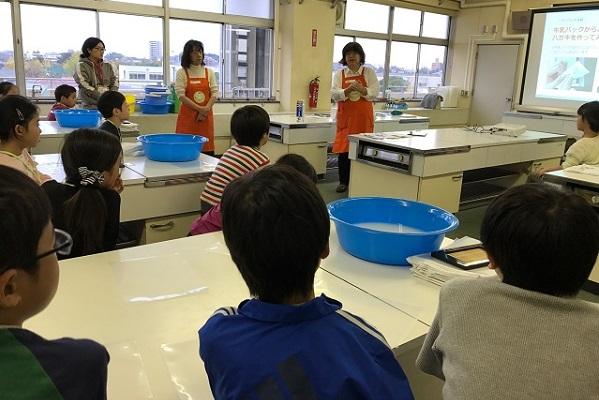 さいたま市立与野南小学校で「リサイクル」をテーマに出前授業を実施しました