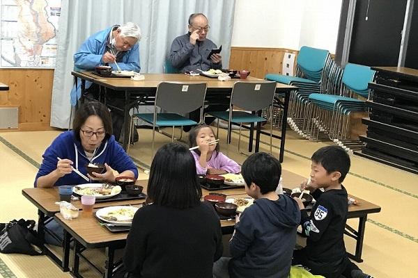 11月各地でほぺたん食堂が開催されました
