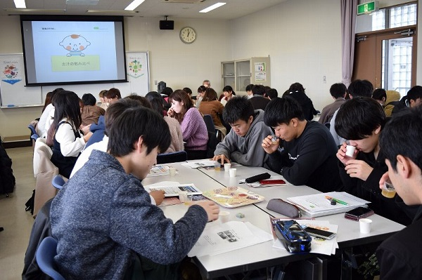 茨城大学ボランティア講座で食育の授業を行いました