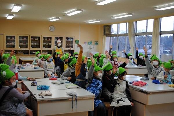 食育教室 「たべる、たいせつ」(那珂市芳野小学校)を開催しました