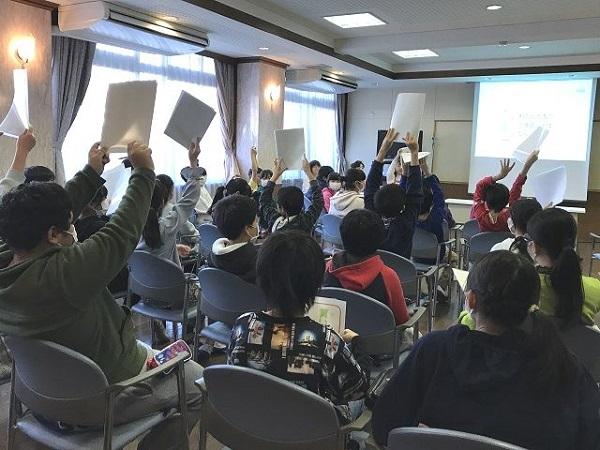 川口市立領家小学校で「もったいないを知ろう」をテーマに出前授業を実施しました