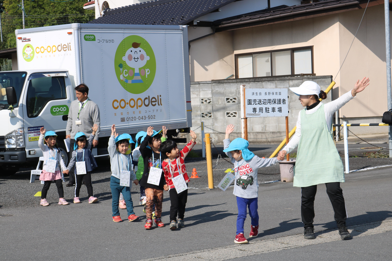 長野市の保育園で交通安全教室を開催しました