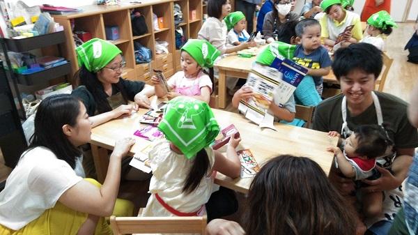 ナーサリーホーム園生保育園にて、食育出前授業「アイスクリームづくり」を開催しました